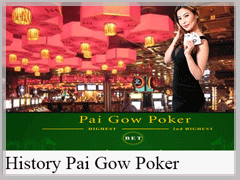 History of The Game Pai Gow Poker