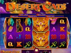 Desert Cats Free Slot Machine